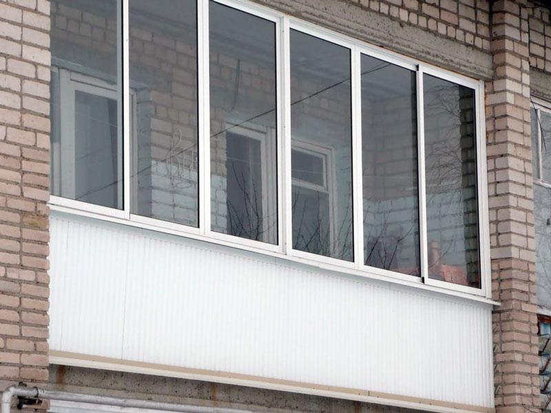 Остекление балконов и лоджий системой provedal (проведал)....