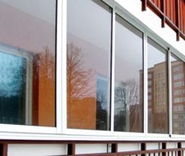 Балконы, лоджии из алюминия