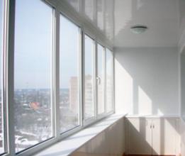 Балконы, лоджии из ПВХ